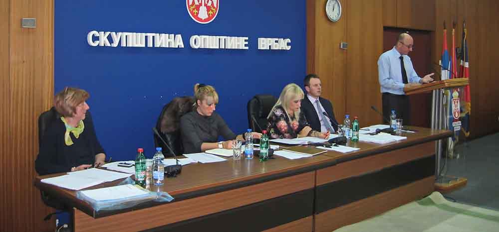 Na XXII sednici SO Vrbas usvojen rebalans budžeta