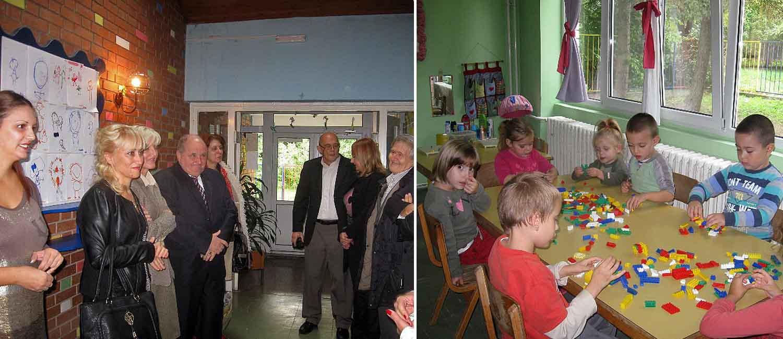 """Predstavnik Vlade Mađarske posetio vrtić """"Suncokret"""""""