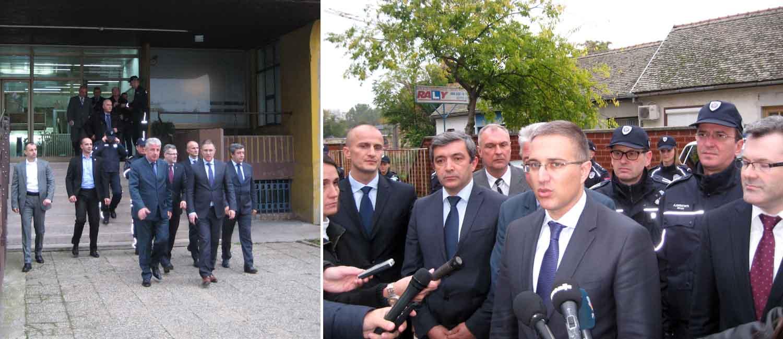 Ministar unutrašnjih poslova dr Nebojša Stefanović u Vrbasu