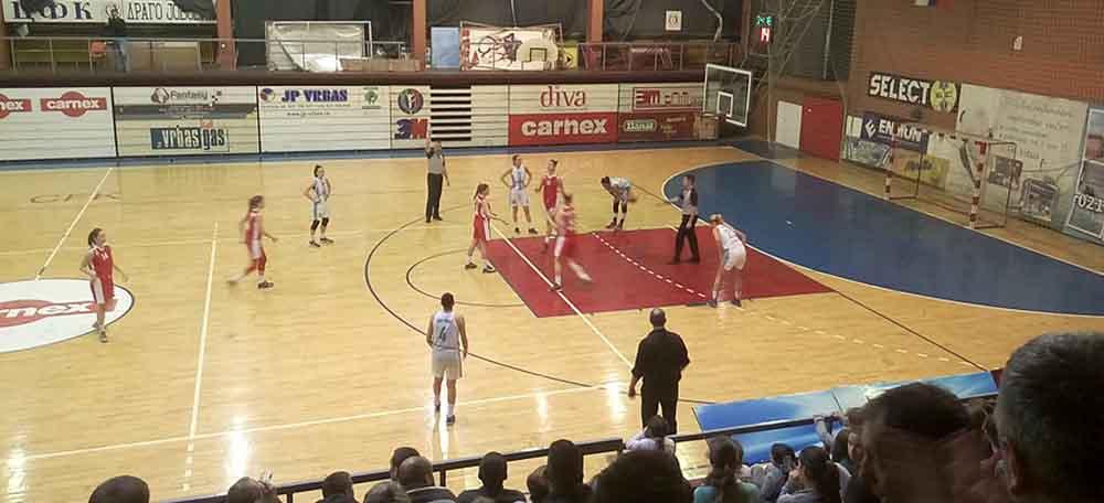Košarkašice Vrbas Medele izgubile od Crvene Zvezde