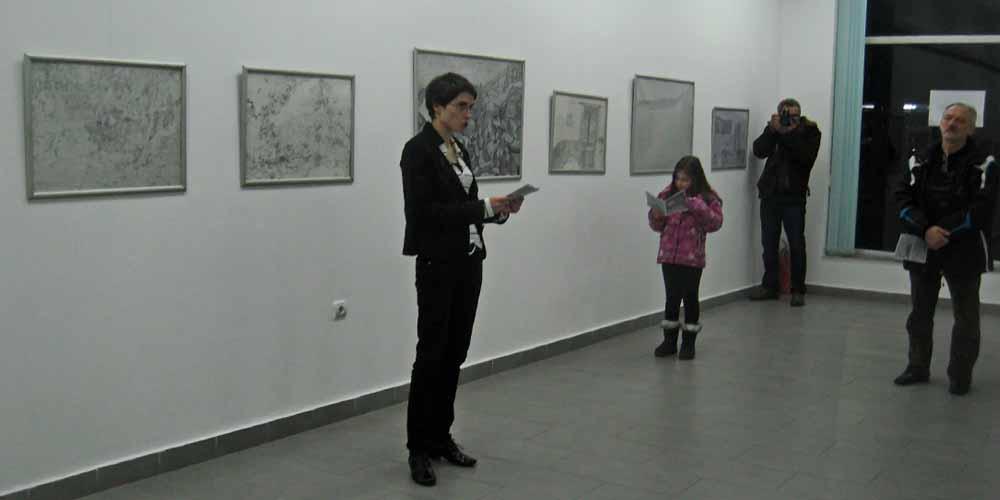 Izložba crteža Tamare Žderić