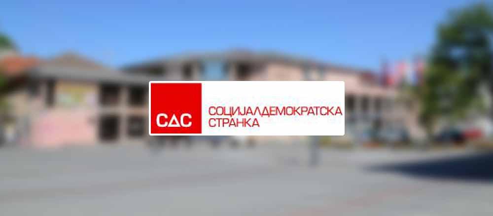 Saopštenje Socijaldemokratske stranke