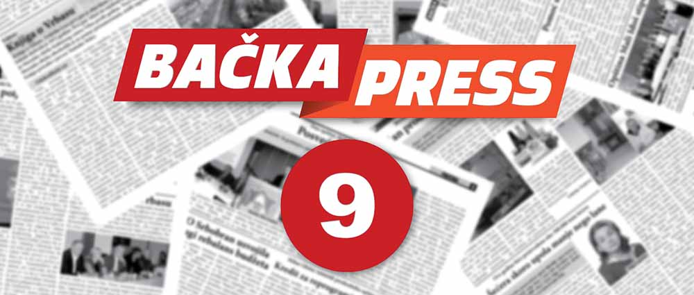 "Deveti broj regionalnog lista ""Bačka Press"""