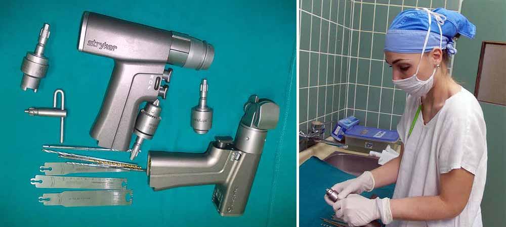 Novi baterijski sistem za ortopedske operacije