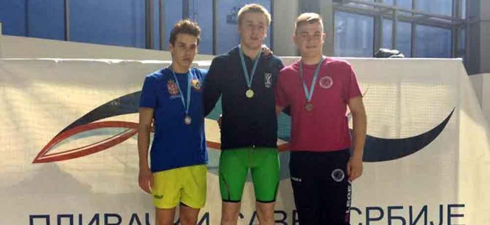 Nikola Ratkov dvostruki prvak Srbije