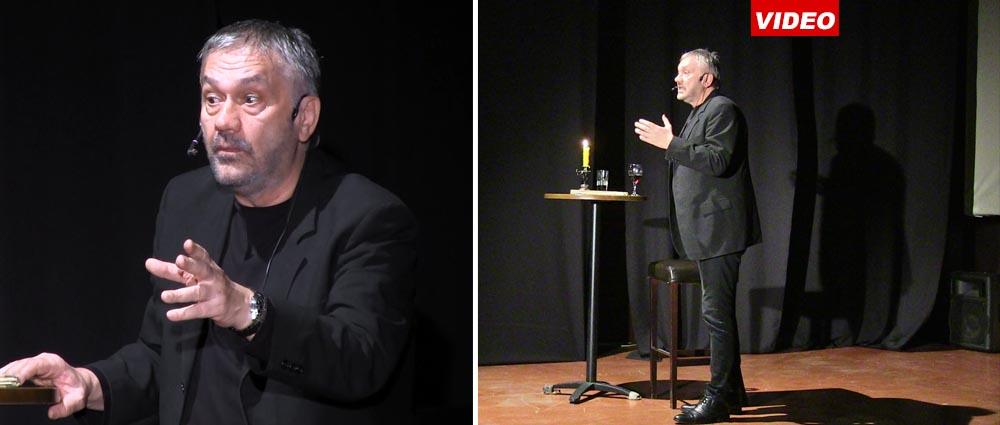 Glumačko veče Slobodana Marunovića