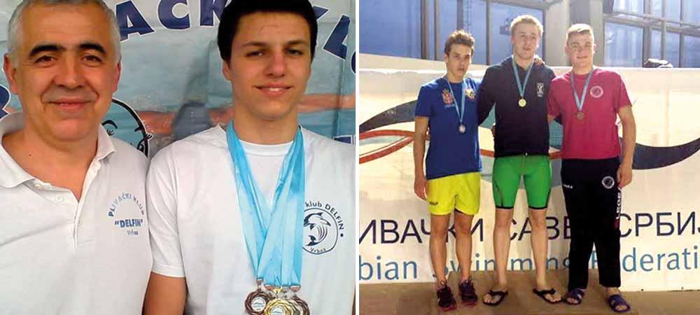 Uspeh plivača PK Delfin i PK Vrbas