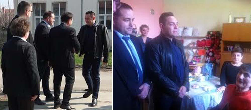 """Vulin u poseti Udruženju za zaštitu majki i dece """"Izida"""" u Feketiću"""