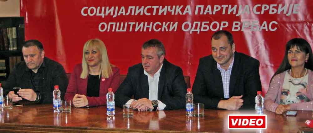 Dušan Bajatović u Vrbasu
