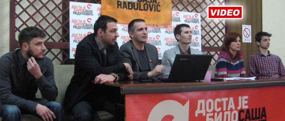 Pokret Dosta je bilo zahteva raspisivanje lokalnih izbora u Vrbasu