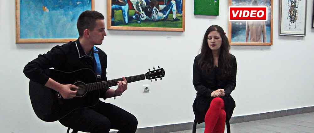 Hor Bačkih pevača na otvaranju izložbe