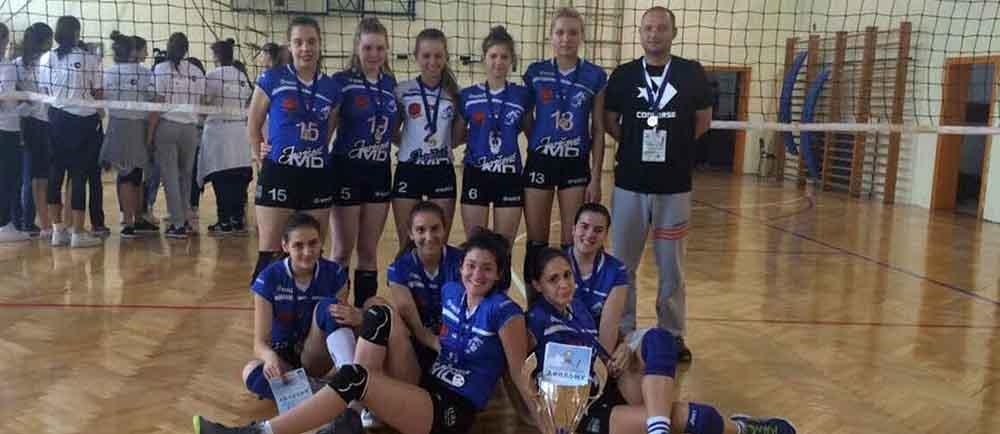 Odbojkašice Gimnazije iz Vrbasa osvojile srebro