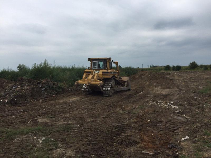 U toku čišćenje divljih deponija u naseljenim  mestima