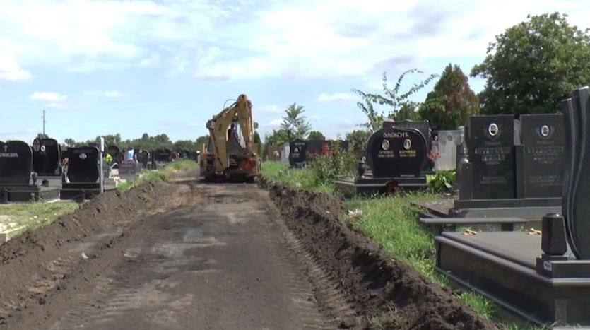 Za uređenje groblja izdvojeno skoro milion dinara