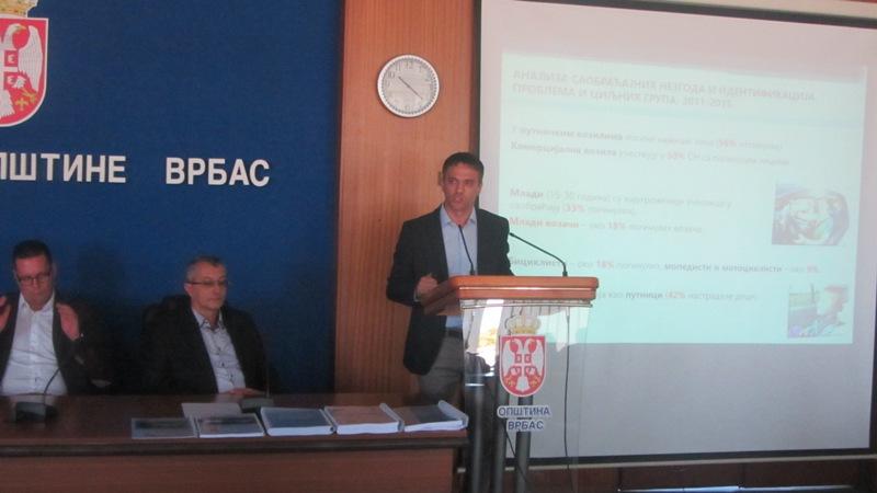 Strategija bezbednosti saobraćaja za opštinu Vrbas od 2016. do 2020. godine