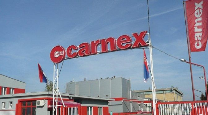 """""""Carnex"""" donirao još 7.5 tona proizvoda Banci hrane"""