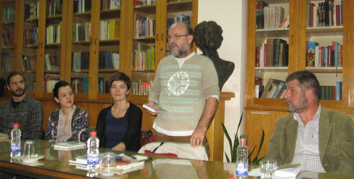 Književno veče Simona Grabovca