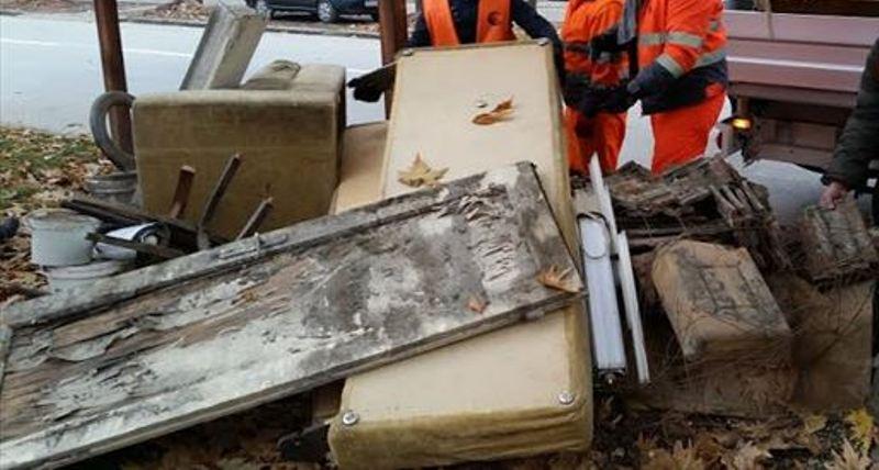 Odnošenje kabastog otpada u subotu 22. oktobra