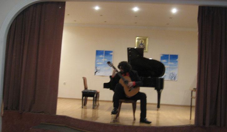 Koncert Miloša Milivojevića, profesora gitare Osnovne muzičke škole u Vrbasu
