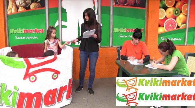 Snimak izvlačenja dobitnika nagradne igre Kviki marketa (VIDEO)