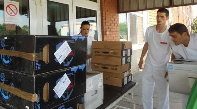 Vrbaskoj bolnici donirana računarska oprema
