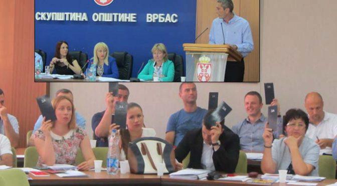 II sednica SO Vrbas – Odbornici raspravljali o završnom računu budžeta