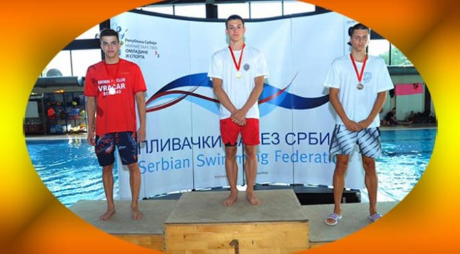 Luka Eraković sjajan na plivačkom prvenstvu Srbije