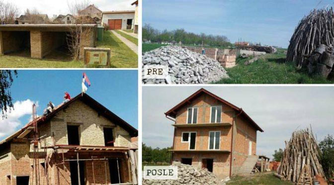 Isporučen drugi deo građevinskog materijala za izbeglice