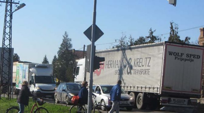 Saobraćajne gužve zbog direkcionog semafora