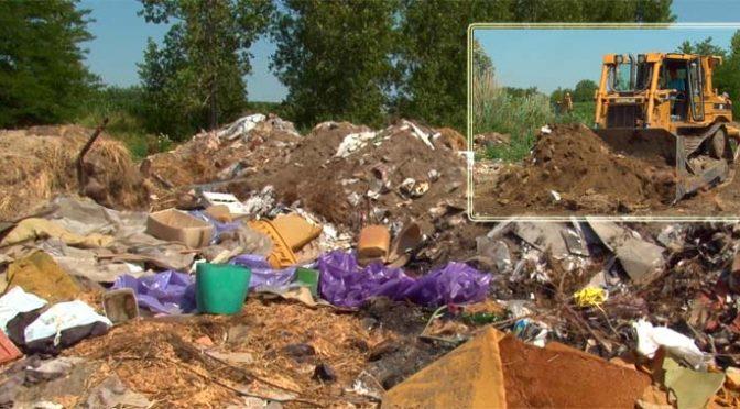 Sanacija deponije građevinskog materijala