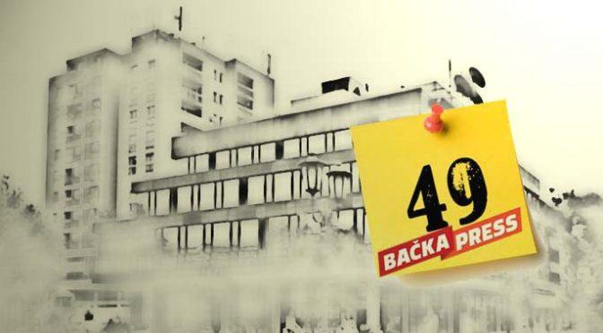 49. broj Bačka Press-a na kioscima
