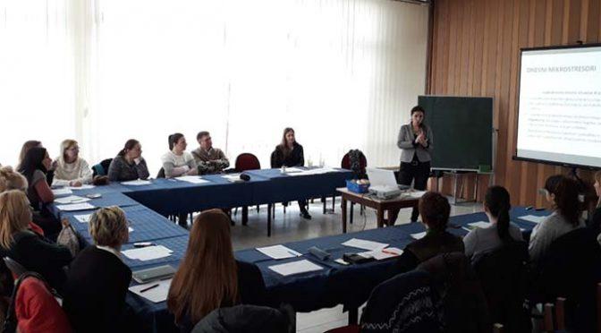 Edukacija zaposlenih u ustanovama socijalne zaštite