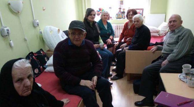 Druženje korisnika Gerontološkog centra i Crvenog krsta