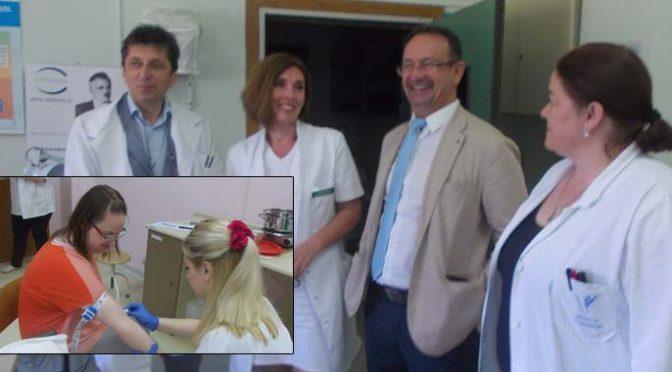 Osma akcija besplatnih pregleda – OBV posetio državni sekretar Ministarstva zdravlja