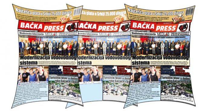 Nabavite svoj primerak novog Bačka Press-a