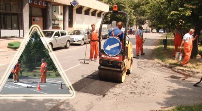 U toku radovi na saobraćajnicama u Vrbasu
