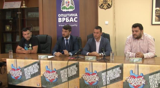 """Karte u prodaji, ulaznica 200 dinara – """"Heart rock fest"""" u Vrbasu"""