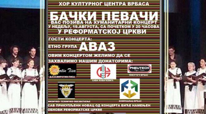 """Koncert hora """"Bački pevači"""" u Reformatorskoj crkvi"""