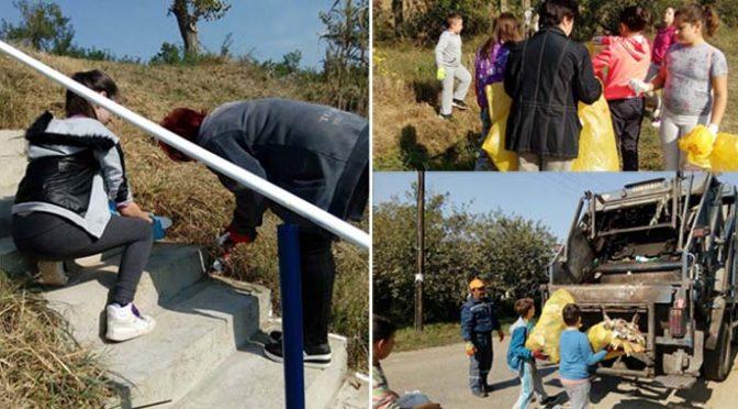 Radna akcija čišćenja priobalja kanala u Kucuri