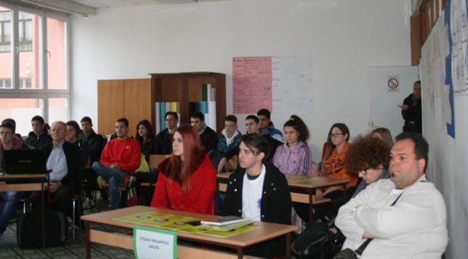 "Razmena iskustava u školama – Projekat SSŠ ""4. juli"""