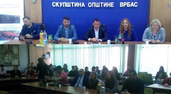 """Vrbas domaćin mladima u sklopu projekta """"Lepota različitosti"""""""
