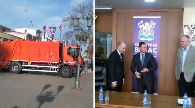 Novo vozilo za sakupljanje otpada donirano opštini Vrbas