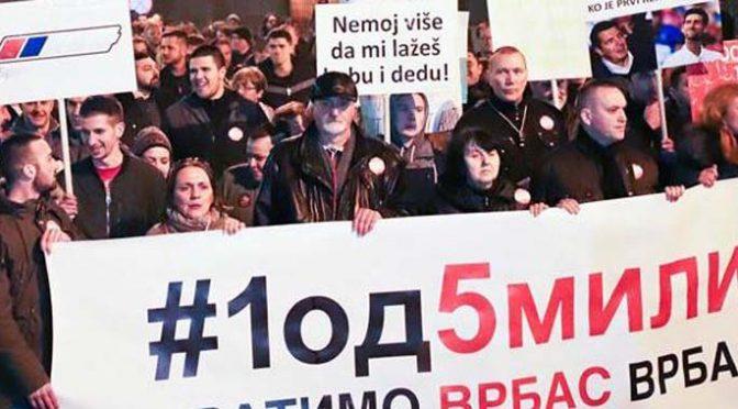 Treći protesti u Vrbasu