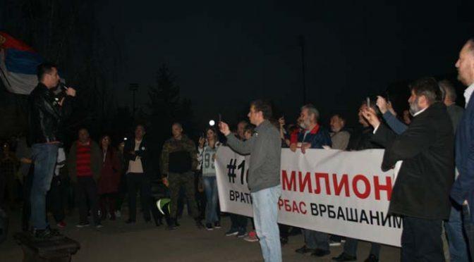 Sedmi protesti u Vrbasu
