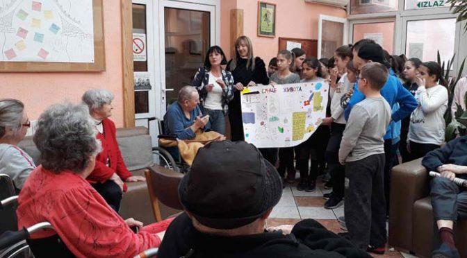 Poseta đaka petaka vrbaskom Gerontološkom centru