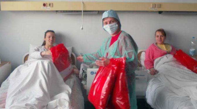 Crveni krst Vrbasa obradovao bebe i porodilje u OBV