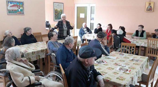 Predavanje o starenju i zdravom životu održano u Gerontološkom centru