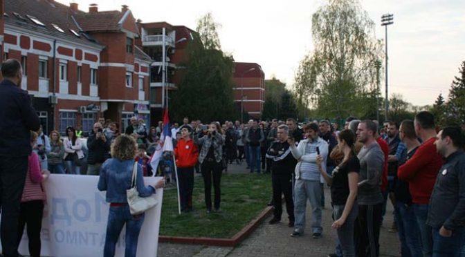 """U Vrbasu održan deseti protest """"Jedan od 5 miliona"""""""