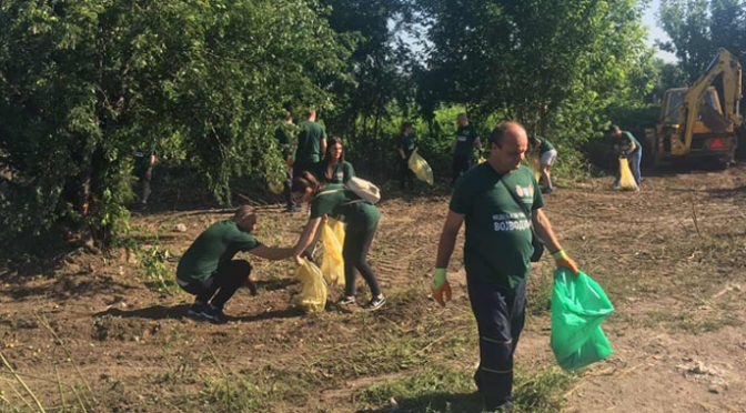 "Vrbas deo ekološke akcije ""Nedelja za čistiju Vojvodinu"""