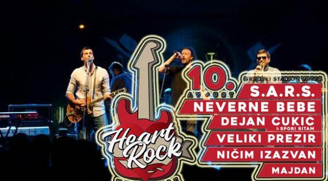 Poznati bendovi koji nastupaju na Heart Rock Festu u Vrbasu 10. avgusta